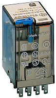 Finder 55.34.9.024.0040 Miniatur-Industrierelais 4W 7A 24VDC