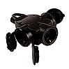 LEGRAND 051366 Hängekupplung 3fach GI IP44