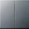 GIRA 029526 Serienwippen für Wippschalter und Taster - alu