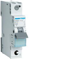 Hager MBS113 LS-Schalter 6kA/B/1P/13A, Quick Connect