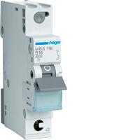 Hager MBS116 LS-Schalter 6kA/B/1P/16A, Quick Connect