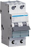 Hager MBS513 LS-Schalter 6kA/B/1+N/13A,(2TE) QuickConnect