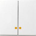 GIRA 063126 Serienwippen mit Kontroll-Fenster - alu