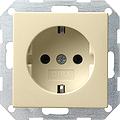 GIRA 018801 Steckdosen - creamweiß glänzend