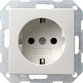 GIRA 018803 Steckdose - reinweiß glänzend