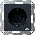 GIRA 045828 Steckdosen, EDV- anthrazit