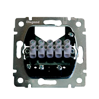 Legrand 775985 Einsatz Leitungsauslass mit Klemmleiste