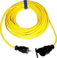PCE 980925325551 Schuko-Verlängerung K35 m. 25m (3G2,5) gelb