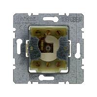 Berker 382210 Jalousie-Schlüsselschalter f. Profil-Halbzzlinder