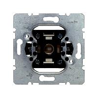 Berker 5101 Drucktaster u. Lichtsignal E10 m. separat Melkontakt