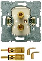 Berker 450502 Lautsprecher-Steckdose High End