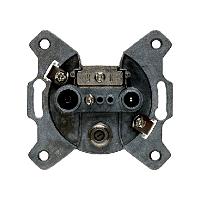 Berker 4522 Antennen-Steckdose 3Loch Einzeldose