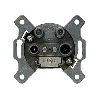Berker 4594 Antennen-Steckdose 4Loch Einzeldose