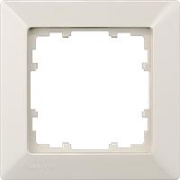 DELTA line Rahmen, 1-fach, elektroweiß 5TG2581-0