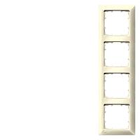 DELTA line Rahmen, 4-fach, elektroweiß 5TG2584-0