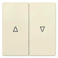 DELTA i-system Wippe, 2-fach, mit Symbolen Auf/Ab, elektroweiß 5