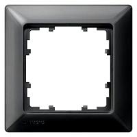 Siemens 5TG2551-6 DELTA line Rahmen, 1-fach, carbonmetallic