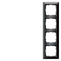 Siemens 5TG2554-6 DELTA line Rahmen, 4-fach, carbonmetallic