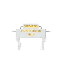 Siemens 5TG7343 Delta LED Leuchteinsatz orange 230VAC