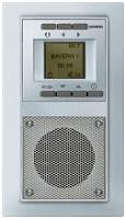 Siemens 5TC1061 Delta Miro Unterputz Radio Aluminium