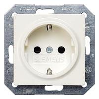 Siemens 5UB1518 Delta I-Sys.Steckdose+Ber�hrungs. titanweiss