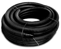 DIETZEL FXKVR 50 SW/50M INKL.MUFFE Kabelschutz-Verbundrohr in Ringen, inkl.Muffe, aus PE, sw