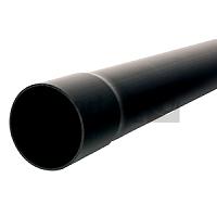 Kabelschutzrohr aus PVC 90/3m schwarz