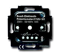 Busch & Jaeger  2112 U-101 Elektronik-Potenziometer-Einsatz