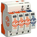 SurgeController V20, dreipolig mit NPE, 280V BETTERMANN V20-3+NPE-280
