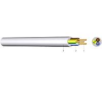 YML 3X0,75mm² HELLGRAU/50M