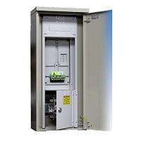 Freiluft-Zählernormverteiler EVN freistehend B420xH955xT230mm