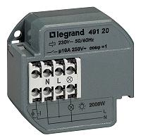 Legrand Einbau Stromstoßschalter 16A 250V AC
