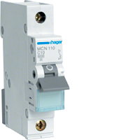 Hager MCN110 LS-Schalter 6KA,C,1polig,10A