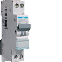 Hager MKN516 LS-Schalter 6KA,B,PH/N,16A,1M