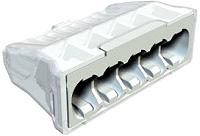 Steckklemme 5-polig 0,5-2,5mm²  100 Stk.