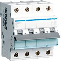 Hager MBN616 LS-Schalter 6KA,B,3+N,16A,anflanschbar