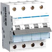 Hager MCN625 LS-Schalter 6KA,C,3+N,25A,anflanschbar
