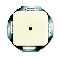 Busch-jaeger 2527-212 Blindzentralscheibe mit Tragring