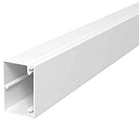 Kabelkanal WDK PVC reinweiß 60x60mm Länge=2m OBO BETTERMANN WDK60060RW