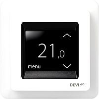 Devi Thermostat Devireg Touch eckig mit Rahmen