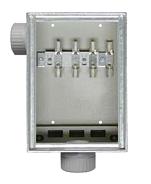 KUEK 100-FZ/B-AP Aufputz-Kabelüberführungskasten
