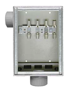 Kabelüberführungskasten AP,100A,EVN,B250xH350xT130mm KUEK 100-FZ/B-AP