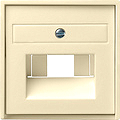 GIRA 027001 Abdeckung für UAE Anschlussdosen - cremeweiß glänzen
