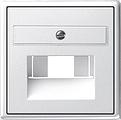 GIRA 027003 Abdeckung für UAE Anschlussdosen - reinweiß glänzend