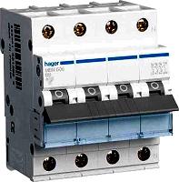 Hager MBN610 LS-Schalter 3p+N, B-10A, 6kA