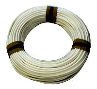 Bougierschlauch PVC-Schlauch weich 10mmx0,7, weiss 50 meter