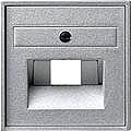 GIRA 027026 Abdeckung für UAE Anschlussdosen - alu