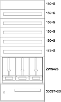 Eaton Zählerverteiler Steiermark BPZ-MES-STN-800/17-3Z