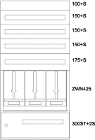 Eaton Zaehlerverteiler-Montageeinsatz  Steiermark BPZ-MES-STN-800/15-3Z