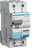 FI/LS-Schalter A 16A/1+N/B 30mA 6kAHAGER ADA916D